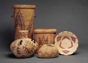 Jicarilla baskets, Wheelwright