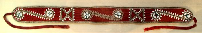 Choctaw baldric sash