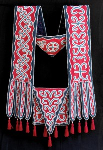 Jerry Ingram (Choctaw), bandolier bag