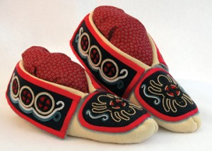 Moccasins by Martha Berry (Cherokee)