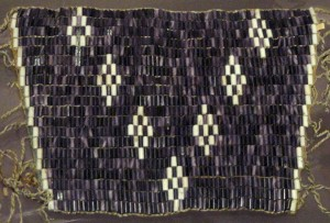 Wampum wrist ornament