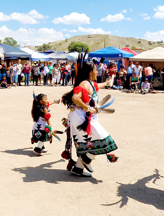 Pueblo Buffalo Dance at Kewa