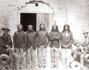 Kiowa at Fort Marion, 1875