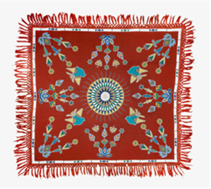 Dakota beaded cloth