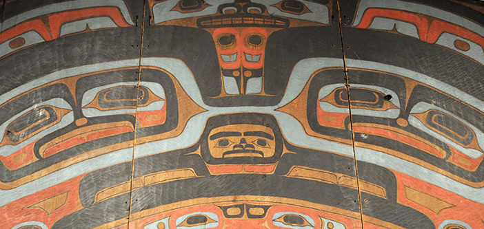 Tlingit raven screen