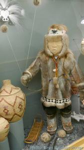fur clothing and Alaska yo-yo