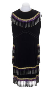 Sleevless jingle dress