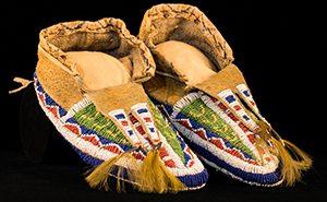 Lakota/Dakota moccasins