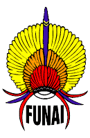 FUNAI logo, Brazil