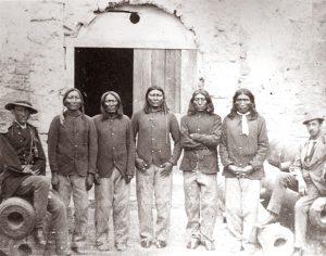 Kiowa at Fort Marion, 1875