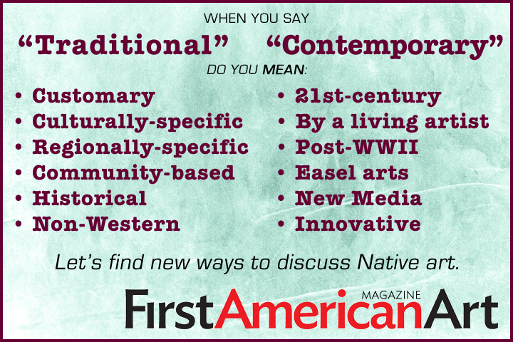 Stop using traditional and contemoprary
