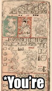 Mesoamerican grammar nazi