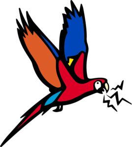 Symposium Macaw logo